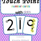 Point and Press Number Cards with Dots 1-9 Extra Large Touch