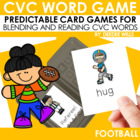 Touchdown!! A CVC Memory Match and Game