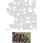 Tour de France - Lesson Plan - Crossword Puzzle in French