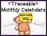 Traceable Monthly Calendars 2014-2015