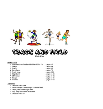 Track and Field Unit Plan (includes appendix resources)