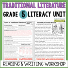 Traditional Literature Reading & Writing Unit Grade 5: 40
