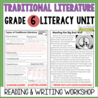 Traditional Literature Reading & Writing Unit Grade 6: 40