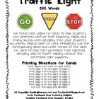 Traffic Light CVC Word Cards