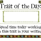 Trait of the Day