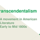 Transcendentalism: Introduction to Emerson and Thoreau, 9