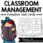Transition Task Cards