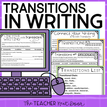 Transitions in Writing: Common Core