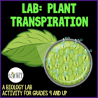 Transpiration in Plants - A Biology Lab