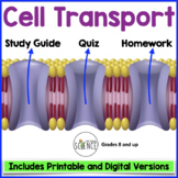 Transport Across the Cell Membrane Quiz  (Osmosis, Diffusion)