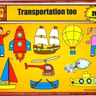 Transportation Clip Art too by Charlotte's Clips