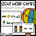 Transportation Sight Word Games