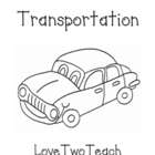 Transportation and Vehicles Unit