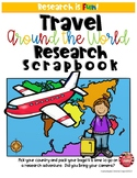 Travel Around the World Culture Scrapbook- Research Project