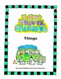 Travel Games for Kids • I Spy Travel Searches • Things