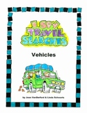 Travel Games for Kids • I Spy Travel Searches • Vehicles
