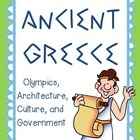Travel back to Ancient Greece! {Unit with Columns, Governm