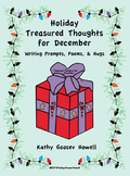 Treasured Thoughts for December - Writing Prompts, Poems, & Hugs