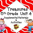 Treasures 5th Grade Language Arts Reading Unit 4 Bundle Ma