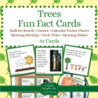 Trees Fact Cards - Fun Unit Extension Activity, Bulletin B