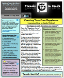 Trends in Health Newsletter: Create Your Own Happiness-Lea