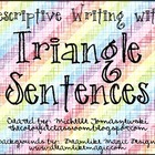 Triangle Sentences for Descriptive Writing