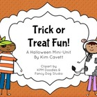 Trick or Treat Fun: K/1 Activities