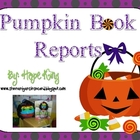 Trick or Treat Pumpkin Book Reports