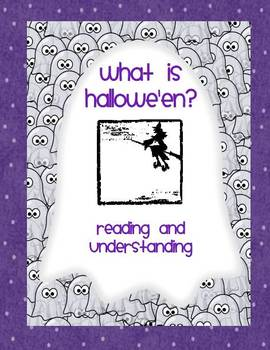 Trick or Treat Smell my Feet Hallowe'en Reading for Understanding