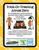 Trick or Treat: Three-Digit Subtraction Across Zero