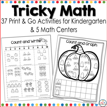 Tricky Math for Kindergarten
