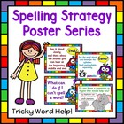 Tricky Word Help Spelling Strategy Posters