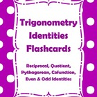 Trigonometry Identities Flashcards