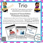 Trio Game:  Professions, Subjunctive (all tenses)- Completed Set!