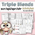 Triple Blends ~ Activity Pack