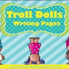 Trolls Writing Packet