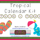 Tropical Theme Classtoom Kit