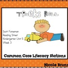 Trucks Roll Reading Street Unit 5 Week 3 Common Core Liter