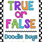 True & False - 7 Math Sets - math facts, time, tally marks