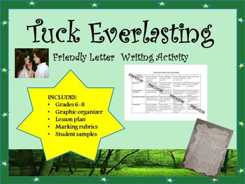 Tuck Everlasting Worksheets
