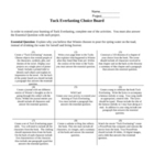 Tuck Everlasting Multiple Intelligence Project