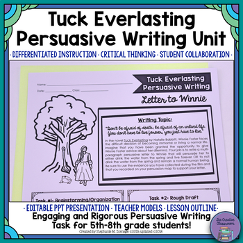 Tuck Everlasting Chapter 1 Vocabulary