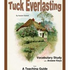 Tuck Everlasting Vocabulary Study