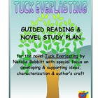 Tuck Everlasting guided reading plan