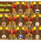 Turkey ABC 123 file folder games