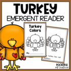 Turkey Color Book {Emergent Reader}