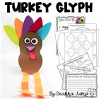 Turkey Glyph Math and Literacy Fun {Aligned with Common Core}