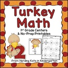 Turkey Math! Common Core Aligned Math Activities!