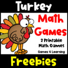 Turkey Math Game