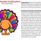 Turkey Number Combinations